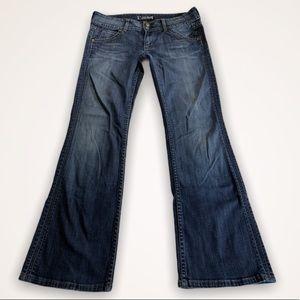 Hudson Bootcut Jeans size 29 EUC